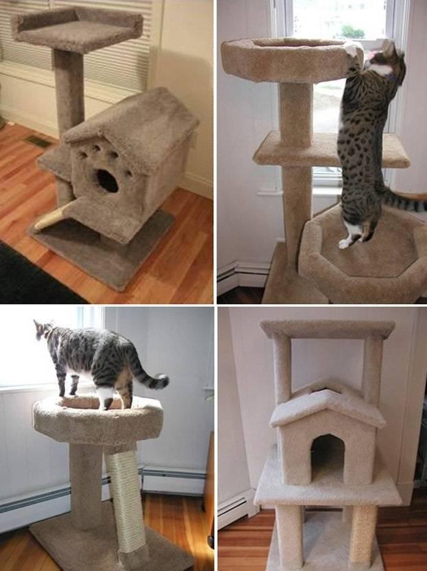 Сделать домик для котов своими руками
